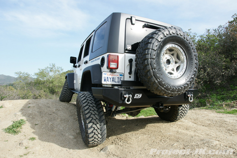 1″ Body Lift Installation Write-Up for a Jeep JK Wrangler