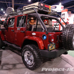 LANDRUNNER Red Rock Jeep JK Wrangler Sahara Unlimited 4-Door