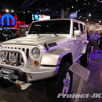 SKUNKWERKS Custom Silver Jeep JK Wrangler Unlimited 4-Door