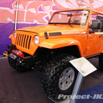 SKUNKWERKS Custom Orange Jeep JK Wrangler Rubicon King 2-Door