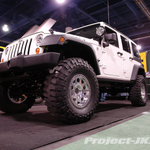 DONAHOE RACING White Jeep JK Wrangler Rubicon Unlimited 4-Door