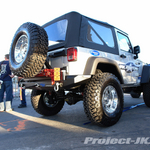 RUBICON EXPRESS Bright Silver Jeep JK Wrangler 2-Door