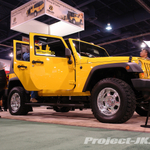 BESTOP Custom Yellow Jeep JK Wrangler Unlimited 4-Door