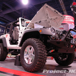 MASTERCRAFT/BURNSVILLE OFF ROAD White Jeep JK Wrangler 2-Door