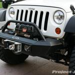 LoD Signature Series Jeep JK Wrangler Shorty Front Bumper