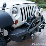 LoD Jeep JK Wrangler Signature Series Mid-Width Front Bumper