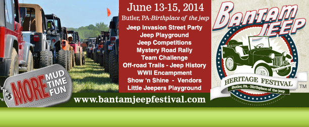 Bantam Jeep Festival