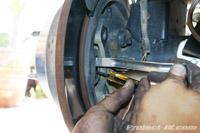 Jeep Jk Wrangler Maintenance Emergency Parking Hand Brake