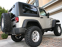 "Full Traction Suspension Jeep JK Wrangler 3"" Economy Lift Kit"