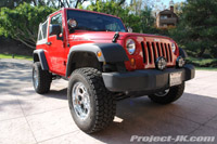 TeraFlex Jeep JK Wrangler 2.5