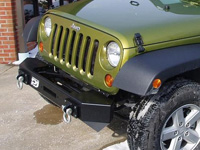 Jeep JK Wrangler PUREJEEP Crawler Stubby Front Bumper