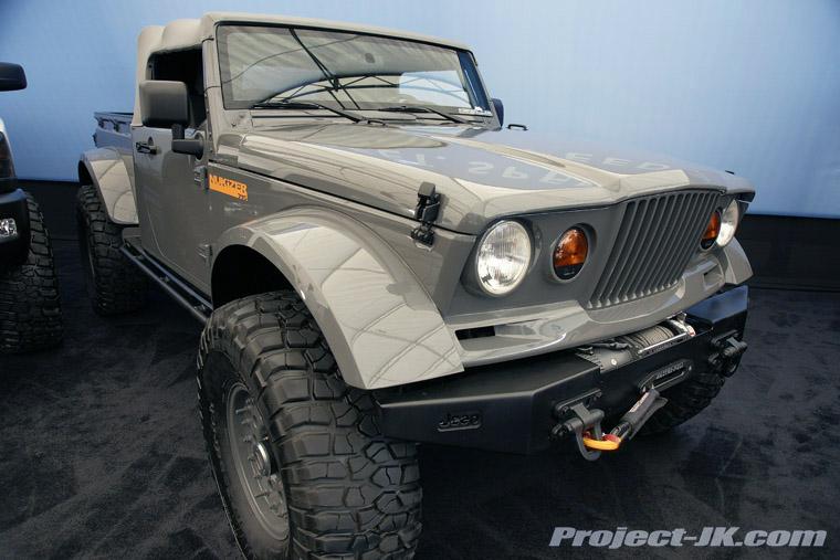 The NuKizer 715 Jeep Truck Concept