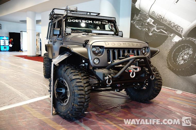 2013 SEMA Project Doomsday Jeep JK Wrangler 4-Door
