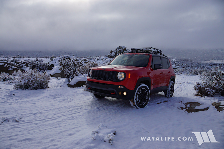 Jeep Renegade Test in the Snow | ToasterJeep - Jeep ...