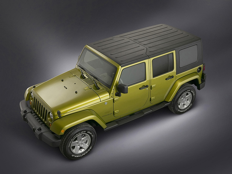 Jeep JK Wrangler Unlimited Hard Top ...