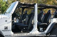 Mastercraft Baja RS Suspension Seats Jeep JK Wrangler