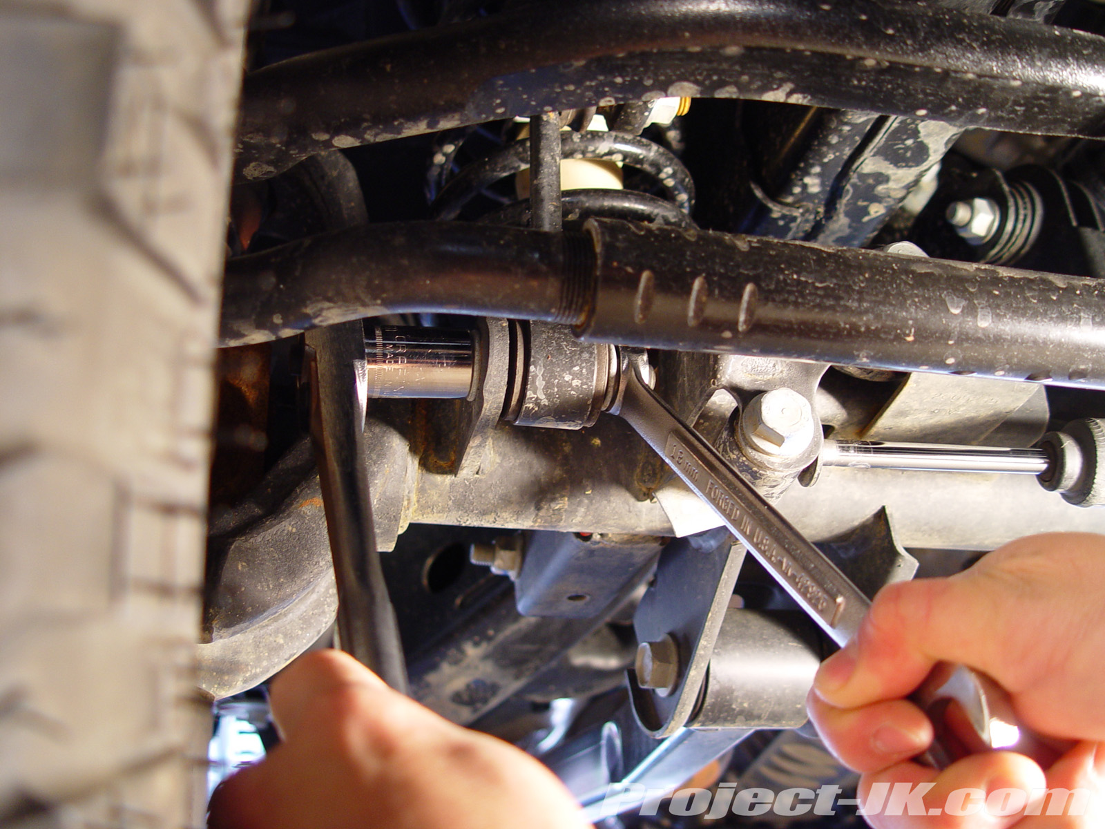 JKS Sway Bar Link Quick Disconnects Installation – Project